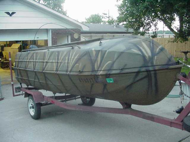 aluminum duck boat plans